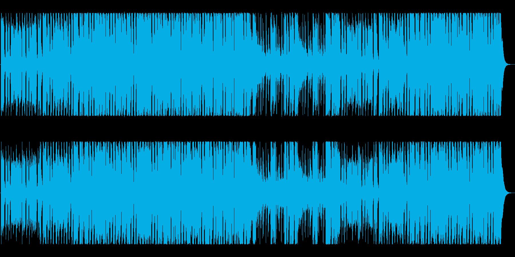 クール&高揚感映像向け、インディロック!の再生済みの波形