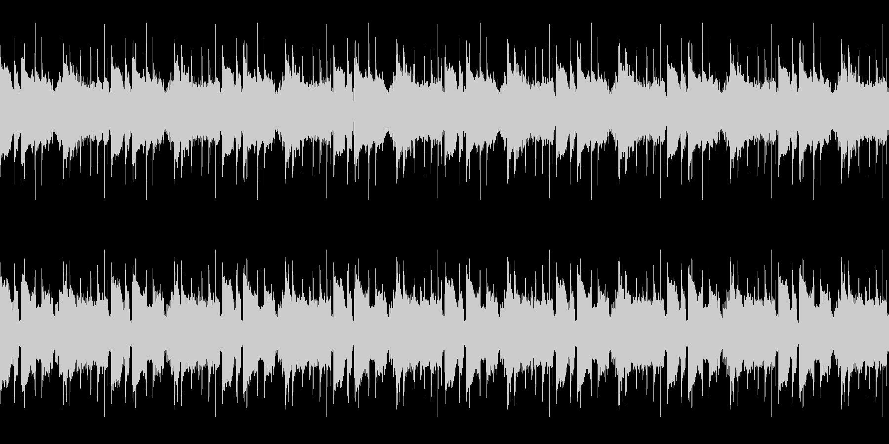 軌道ループ3の未再生の波形