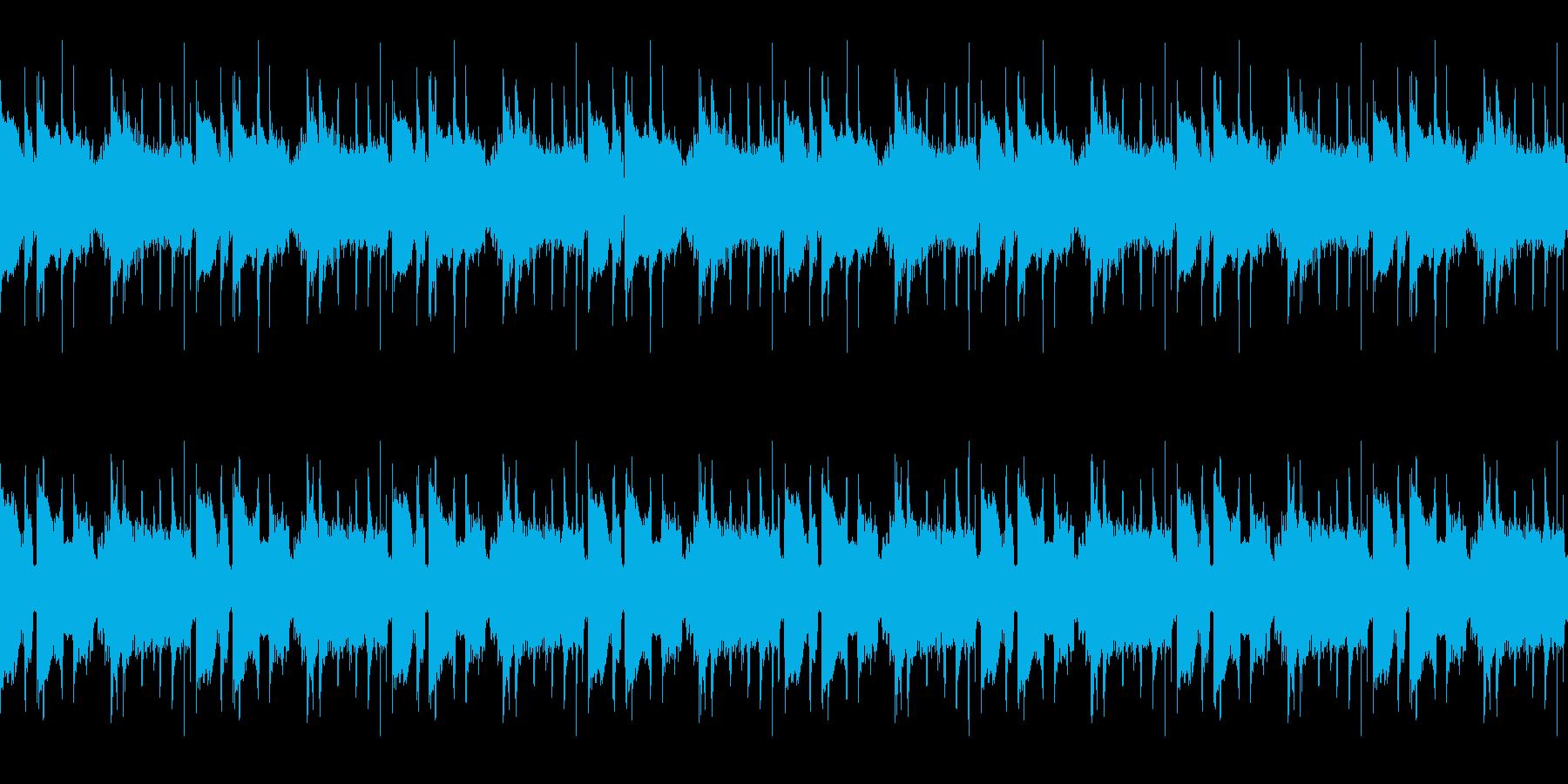 軌道ループ3の再生済みの波形