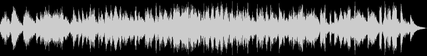 ローズピアノのフリーな雰囲気のアドリブの未再生の波形