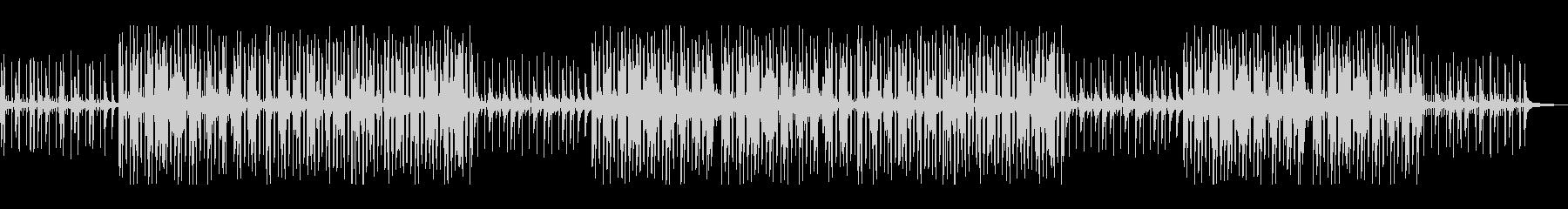 しっとりとしたジャズヒップホップ・ピアノの未再生の波形