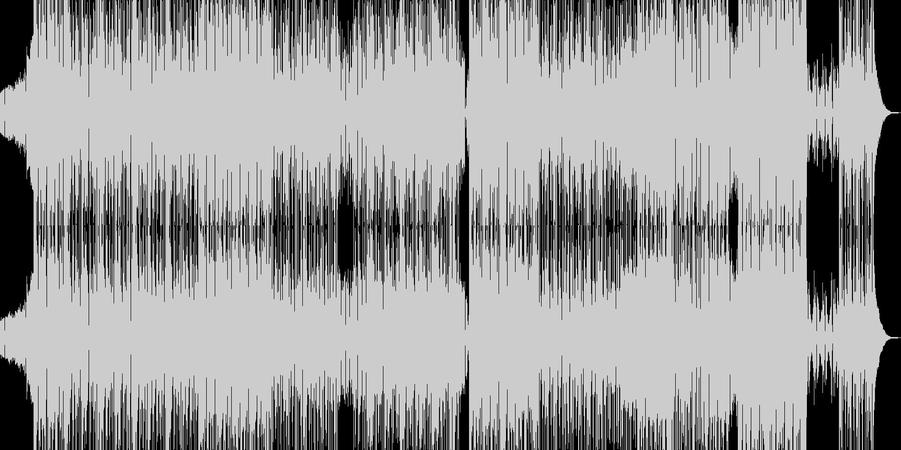 三味線・邪悪な和風ヒップホップ Lの未再生の波形