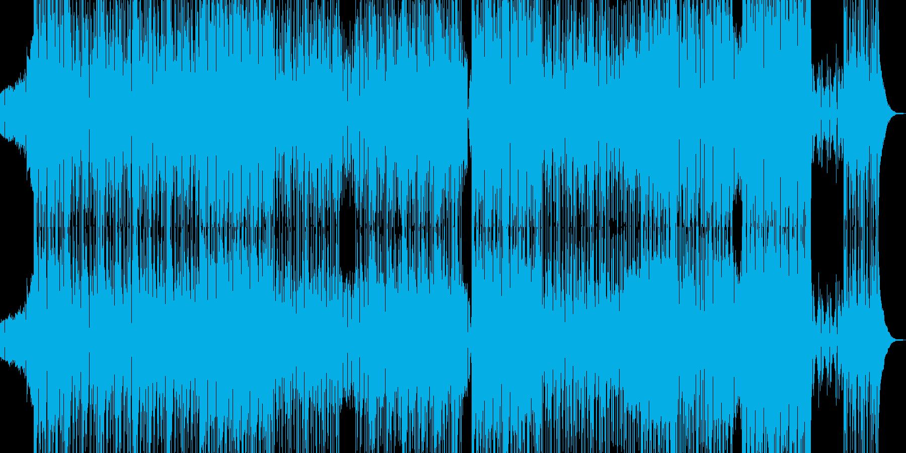 三味線・邪悪な和風ヒップホップ Lの再生済みの波形