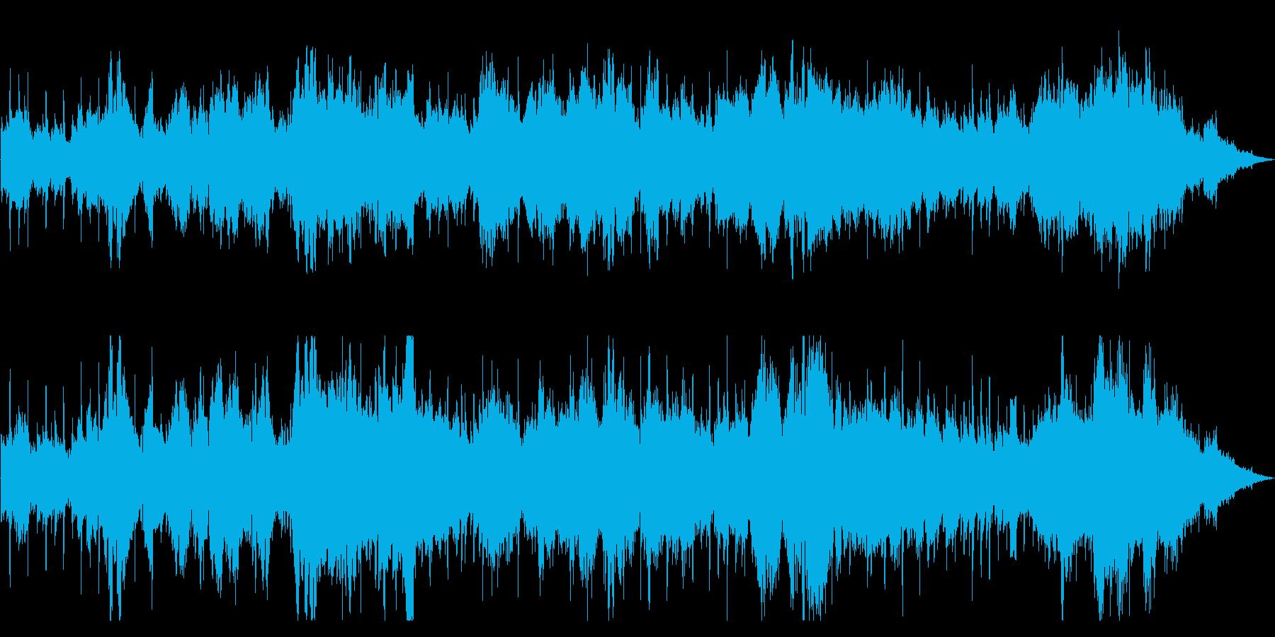 ケルトの雰囲気を漂わせる伝統的サウンドの再生済みの波形