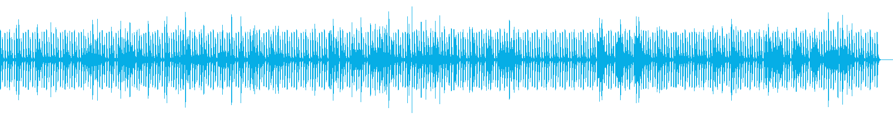 反復的なピアノのリフは、奇妙な緊張...の再生済みの波形