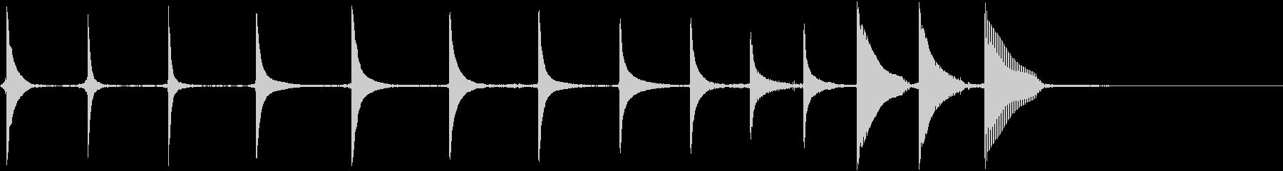 エレキギター:ミュートタンブルダウ...の未再生の波形