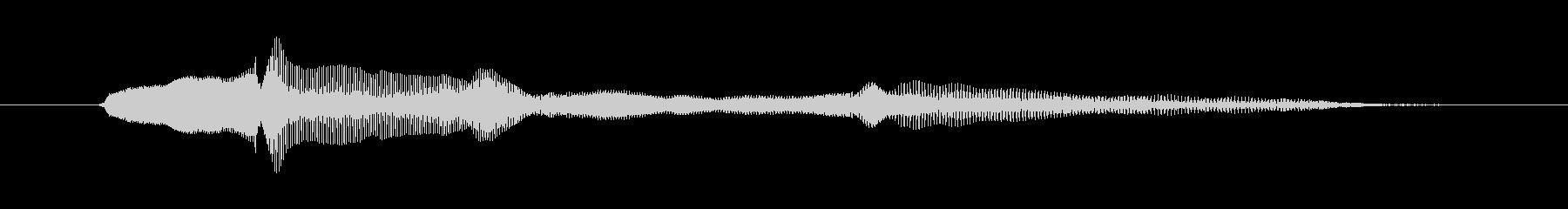 鳴き声 ベイビートークママ01の未再生の波形