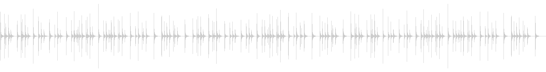 きよしこの夜 木琴 コンサートホールの未再生の波形
