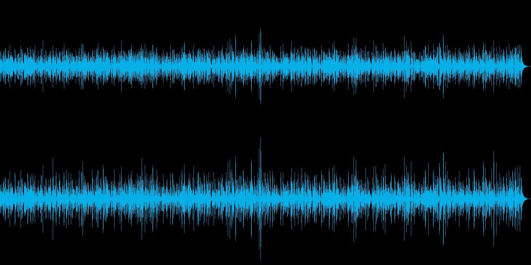 ジャズ|夜に一人で聴きたいしっとりピアノの再生済みの波形