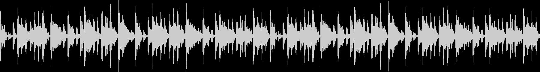 チル系エレクトロBGMの未再生の波形