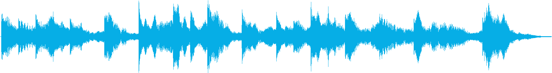 電車の発車メロディ(発着音)001の再生済みの波形