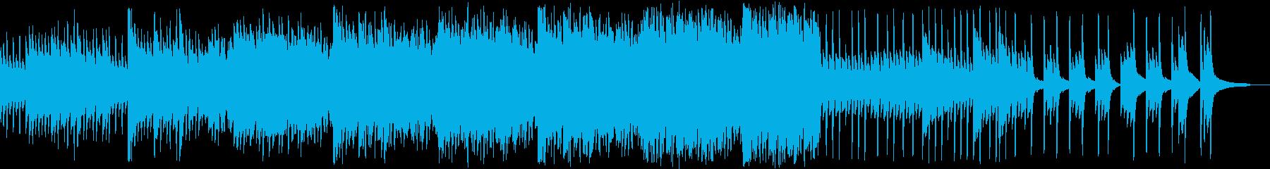 ピアノ/オーケストラ楽器。情熱的で...の再生済みの波形