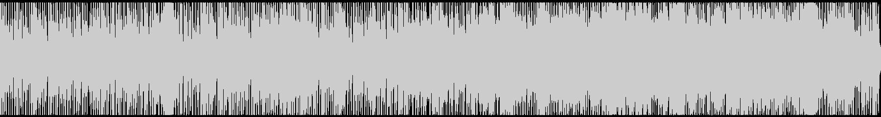 日常系・スキップするような明るいBGMの未再生の波形