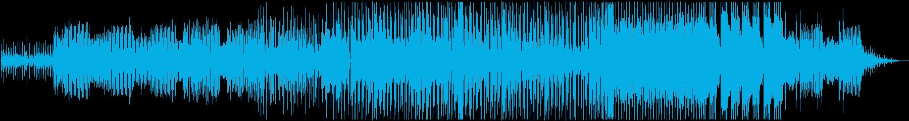 幽霊と戯れるようなエレクトロテクノの再生済みの波形