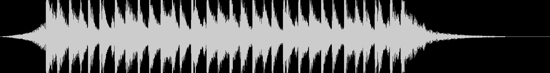 企業VPやCM、口笛、明るいポップ15秒の未再生の波形