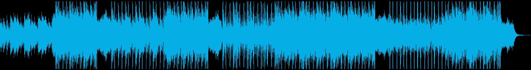 心落ち着く切ない三拍子の再生済みの波形
