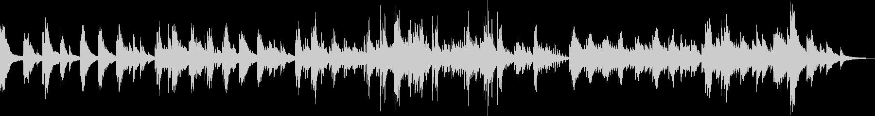 悲劇のピアノバラード(悲しい・切ない)の未再生の波形