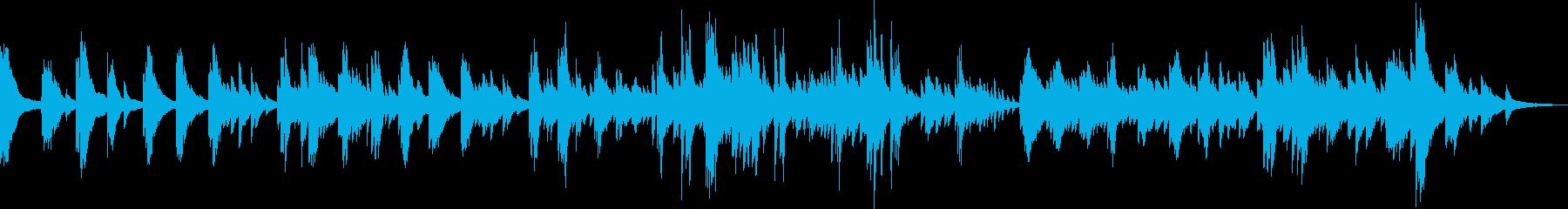 悲劇のピアノバラード(悲しい・切ない)の再生済みの波形