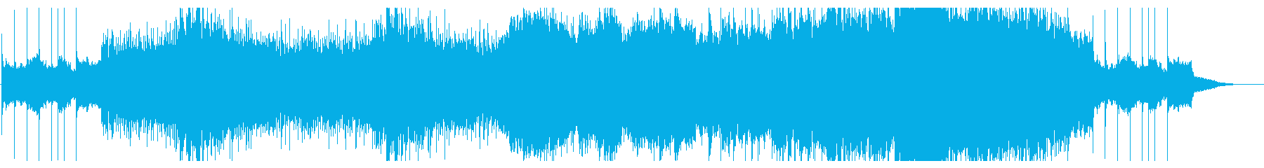 クラシック風のポップスですの再生済みの波形