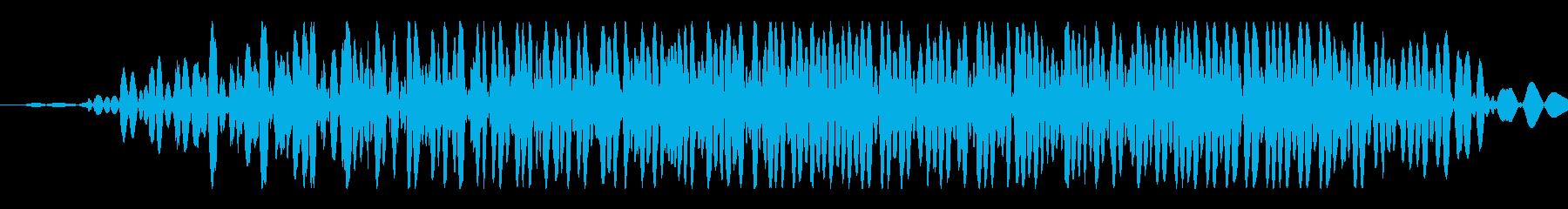 大きなクリーチャー:短い低うなり声の再生済みの波形