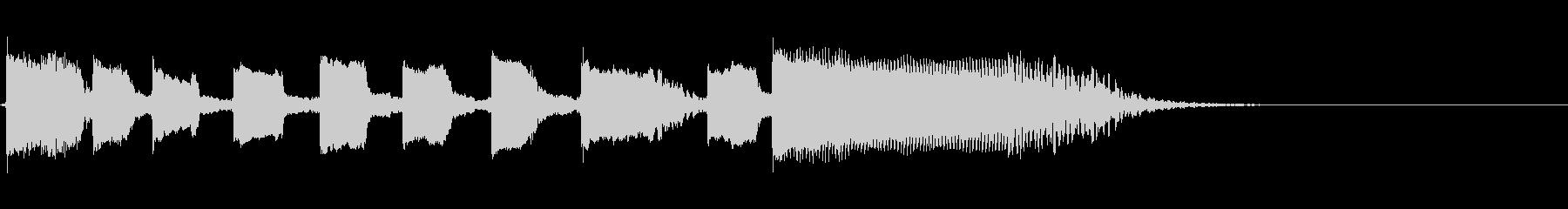 Guitarジングル3/おしゃれソロの未再生の波形