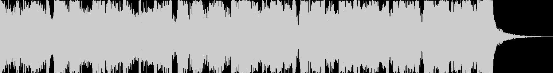 おしゃれレトロディスコシティポップhの未再生の波形