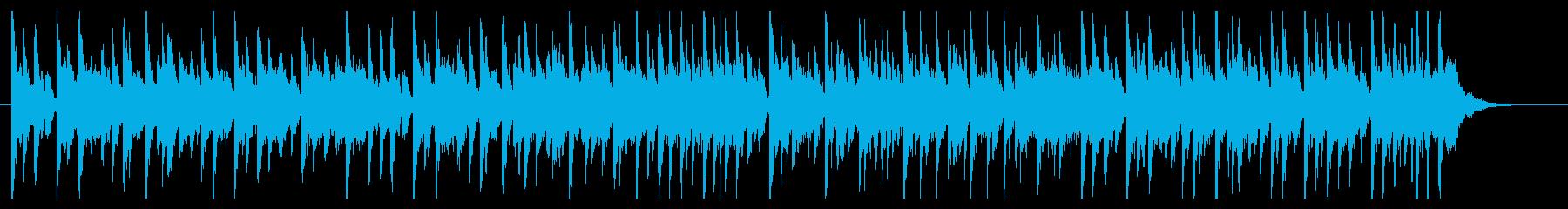 バラエティーのコーナータイトルの再生済みの波形