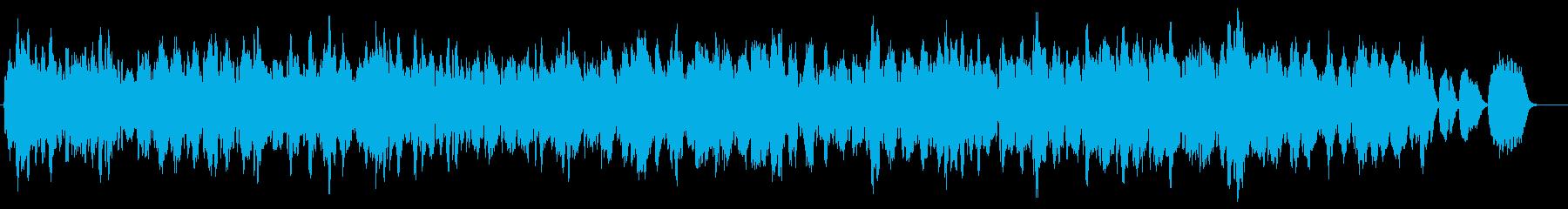 牧歌的な弦楽奏デュオです。の再生済みの波形