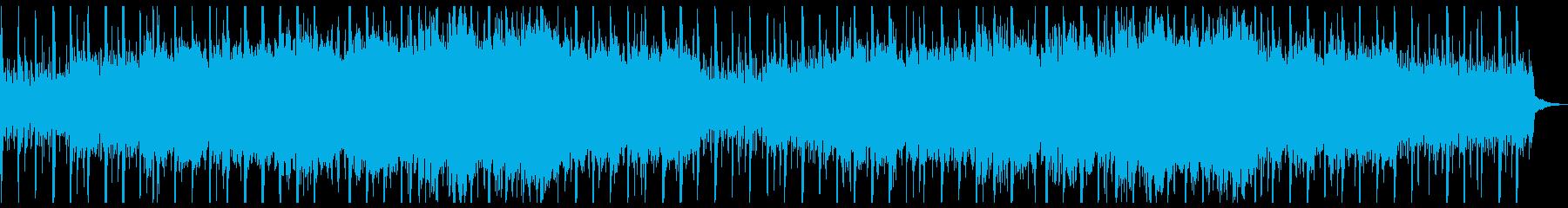 コンセプト感や上品さのあるストリングスの再生済みの波形