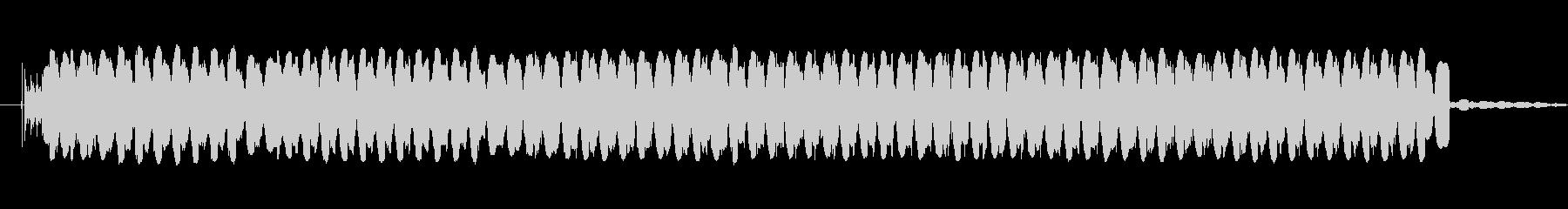 耳障りなブザー1の未再生の波形