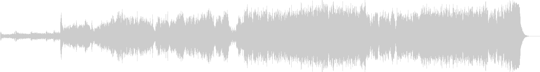 BGMの未再生の波形