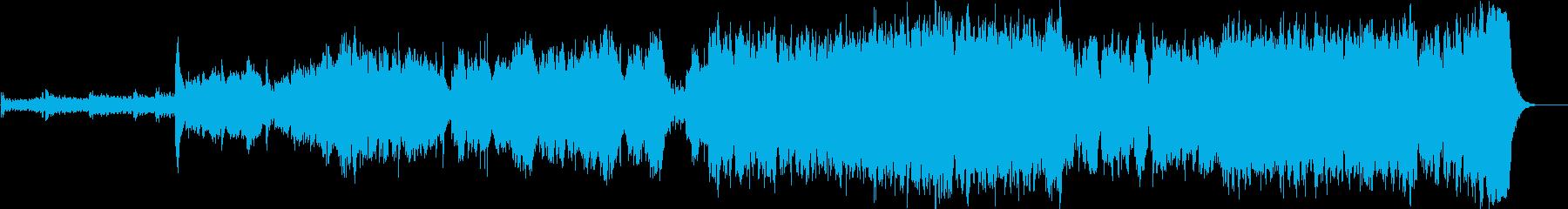 BGMの再生済みの波形
