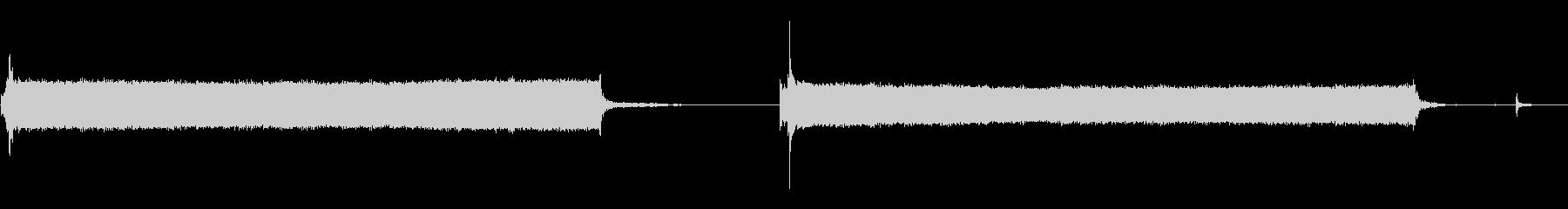 電気表彰台モーター:上げ下げ、クロ...の未再生の波形