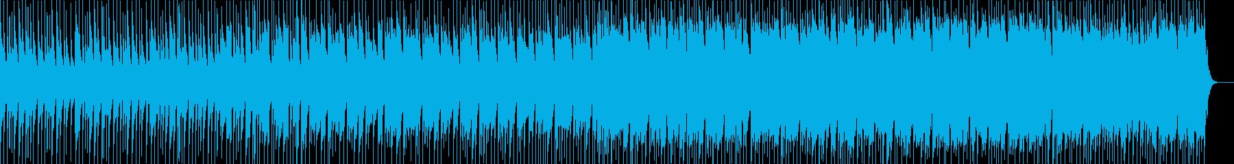 ミステリアスより不思議な感じの曲の再生済みの波形