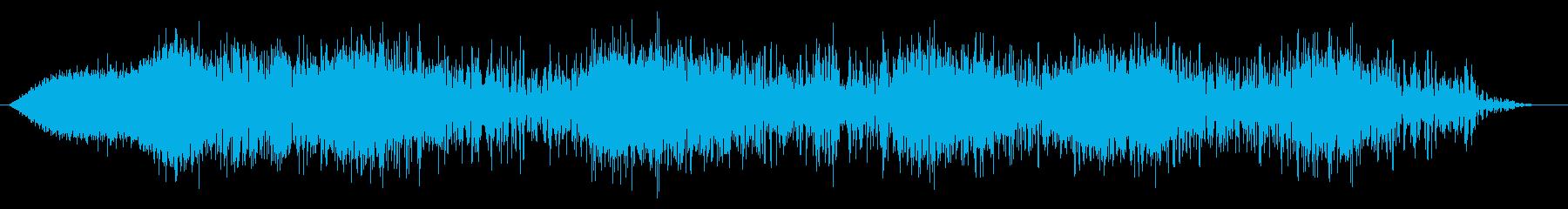 ゴー!火球・火炎系魔法#6発動音付きの再生済みの波形