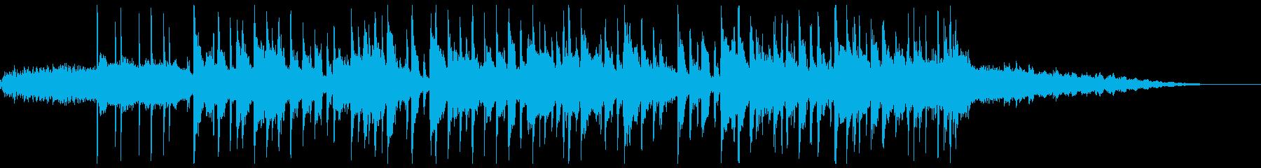 クールなジャズファンクジングルの再生済みの波形