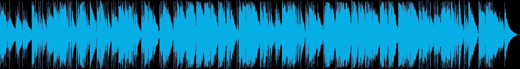 しっとりしたイージーリスニング曲の再生済みの波形