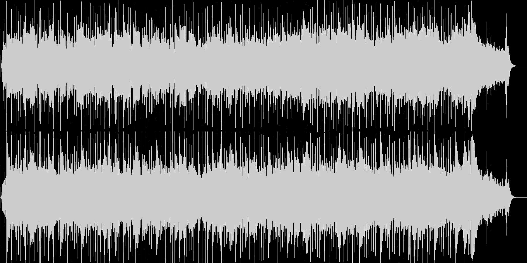 ギターメインのほのぼのとしたポップスの未再生の波形