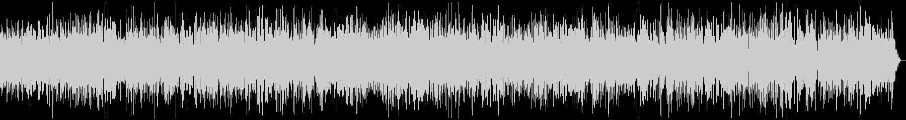 ピアノメロディーのやさしいポップの未再生の波形