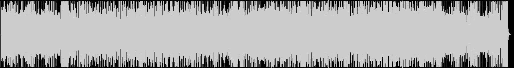 スリリングなEDMゲーム映像にの未再生の波形