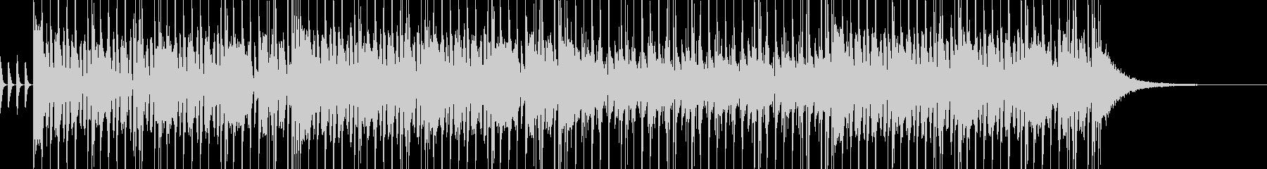 映像系やアニメに合う軽快なファンクの未再生の波形