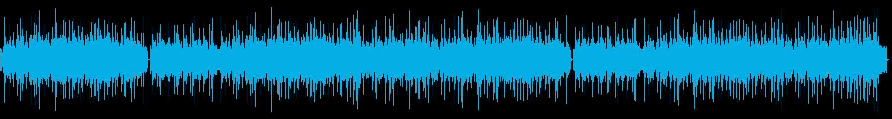 マンドリン、ブラシ、アコースティッ...の再生済みの波形