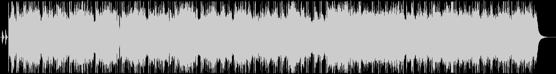 実験的な岩 バックシェイク メタル...の未再生の波形
