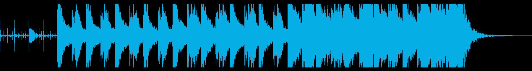 現代的 交響曲 ドラマチック 暗い...の再生済みの波形