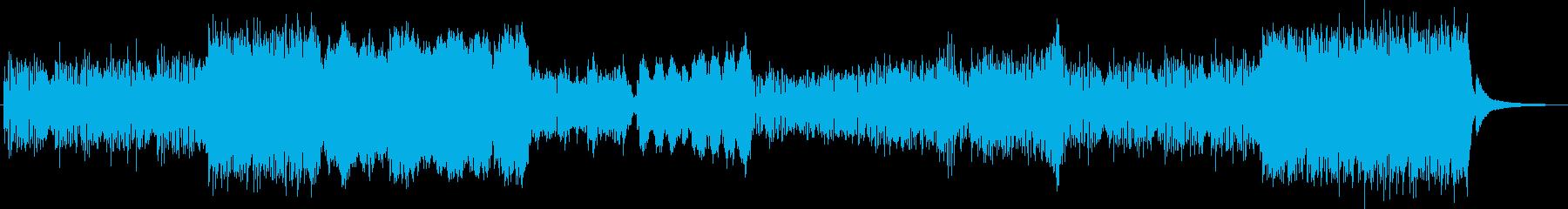感動的で壮大なピアノバイオリンサウンドの再生済みの波形