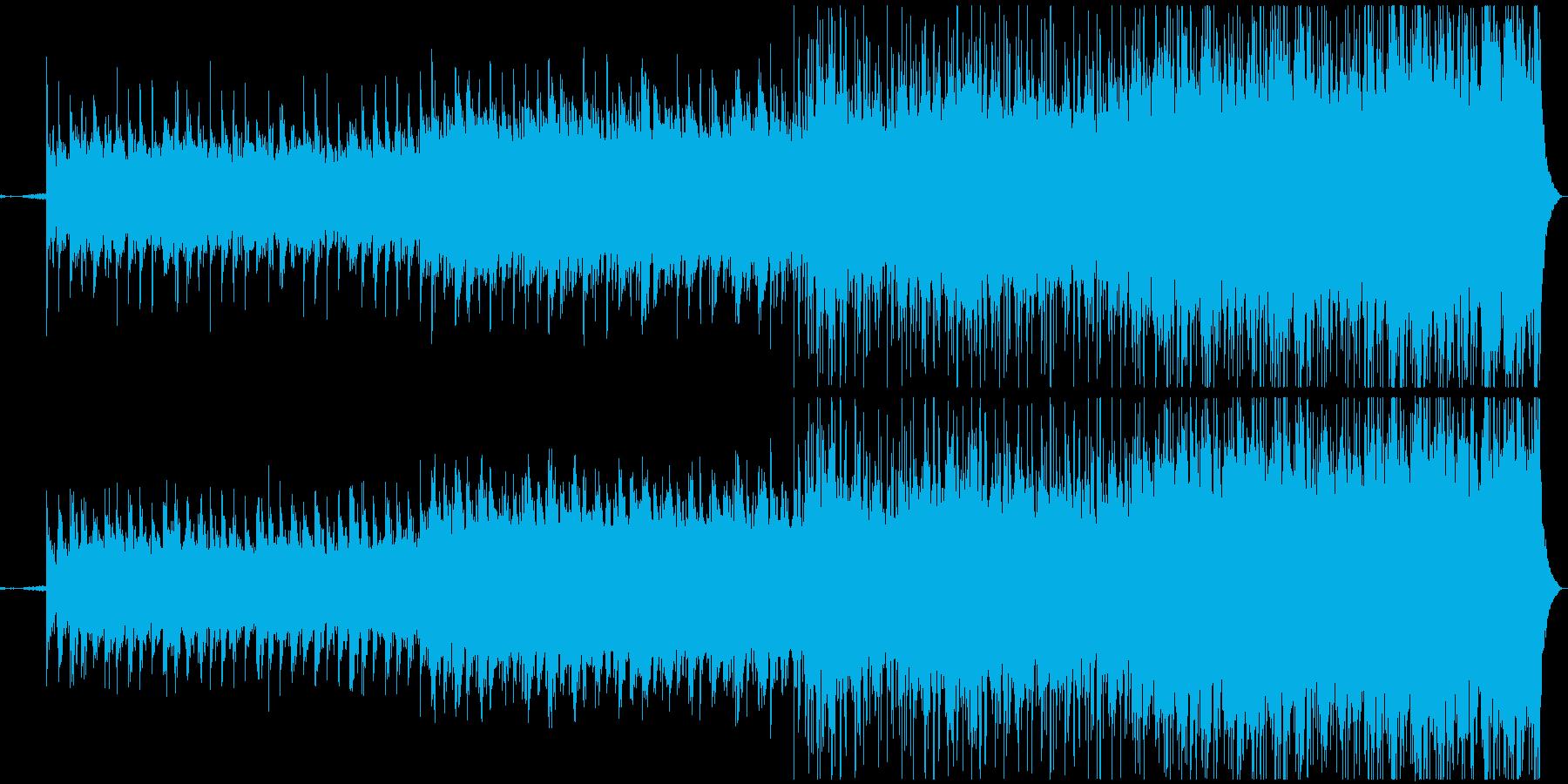 幼い頃の記憶をテーマにしたBGMの再生済みの波形