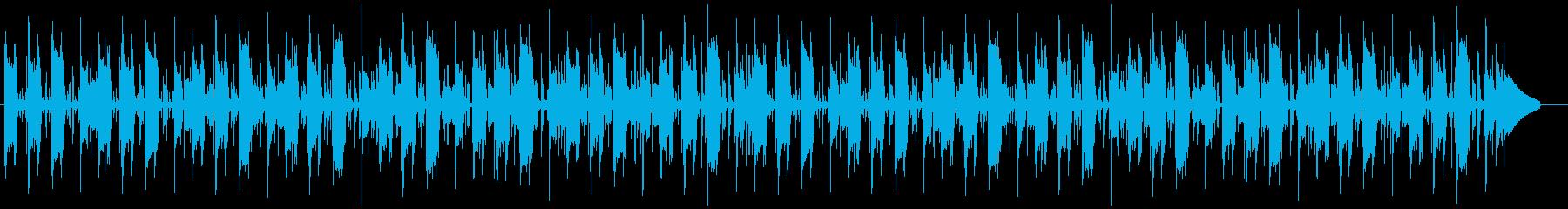 楽しいノリノリのポップなファンクの再生済みの波形