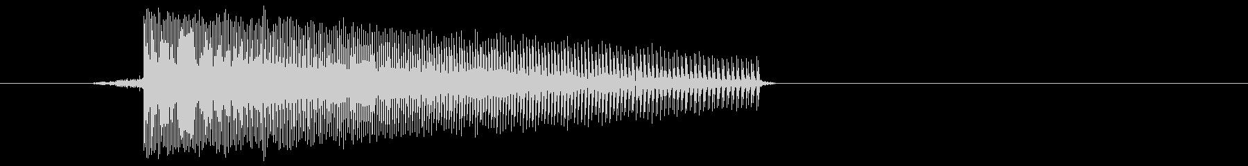 ゲーム(ファミコン風)レーザー音_031の未再生の波形