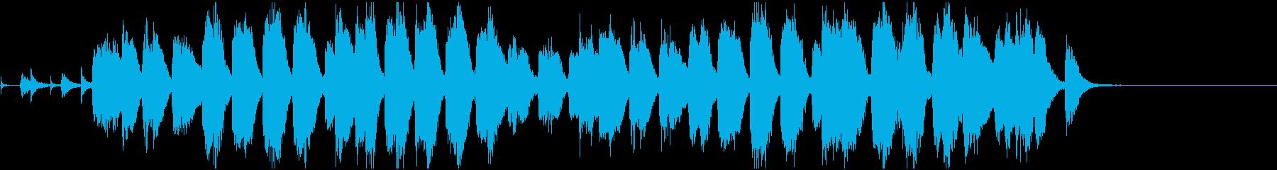 のんびりほのぼのしたピアノソロの再生済みの波形