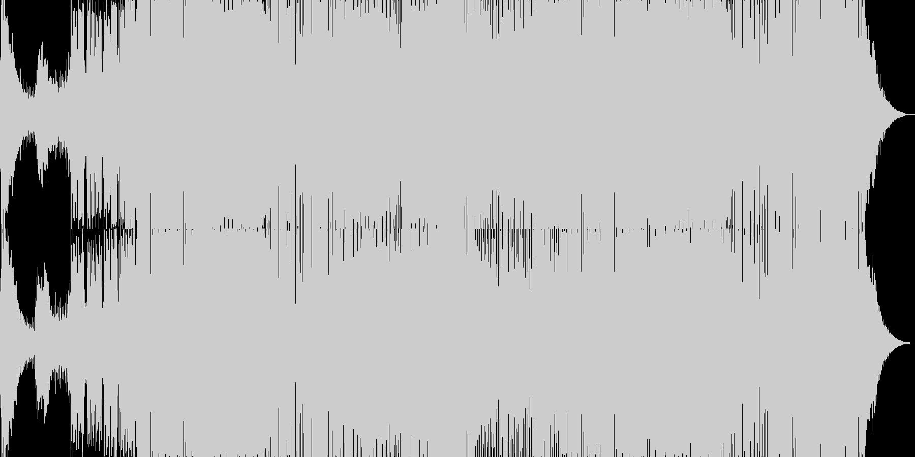 ディスコのイントロはほぼ1分10秒...の未再生の波形